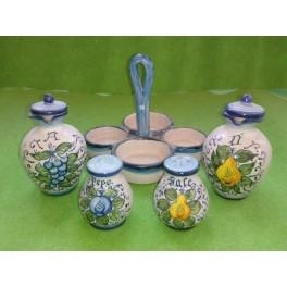 Ceramic Kit for condiment