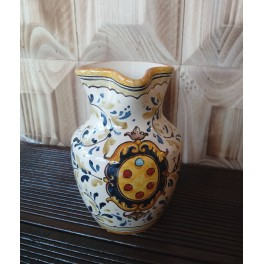 Brocca in ceramica con Stemma Mediceo