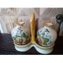 Set olio aceto in ceramica