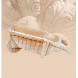 Schubkarrenförmige Vase