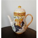 Ceramic Teapot (tuscan handmade decoration)