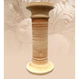Colonna liscia in terracotta