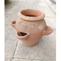 Terracotta Jar with pockets