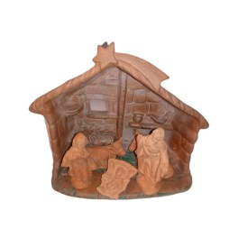 Presepe in terracotta