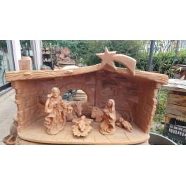 Presepe in terracotta