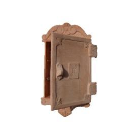Schlüsselhalter in Terrakotta