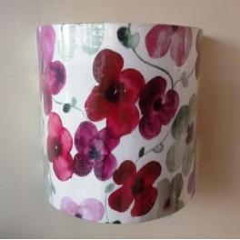 Ventola da parete stampa floreale