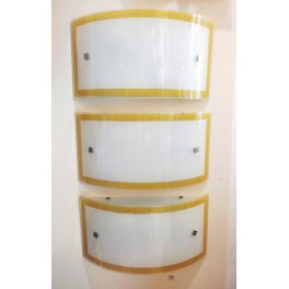 Applique fascia vetro